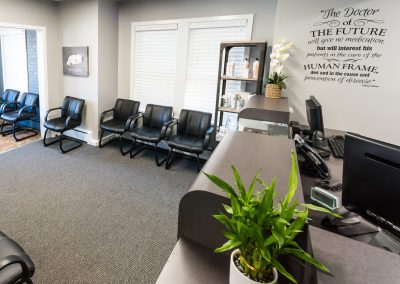 Madeira Chiropractic Front Desk