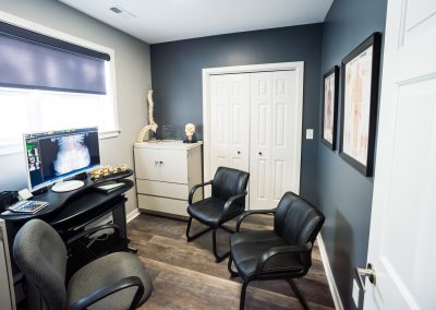 Madeira Chiropractic Report of Findings Room